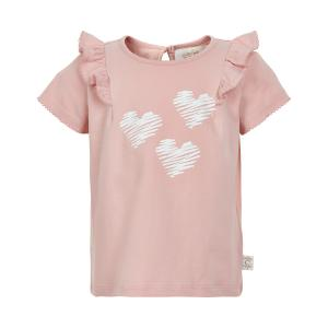 CREAMIE T-SHIRT FRILL 840208 ROSE