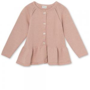 MINIATURE ALOUTTE CARDIGAN ROSE DUST