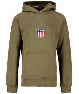 GANT HOOD 906652 SHIELD ARMY