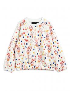 MINI RODINI SWEATSHIRT RABBIT