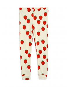 MINI RODINI LEGGINGS STRAWBERRY OFF