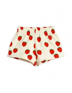 MINI RODINI SWEATSHORTS STRAWBERRY OFF
