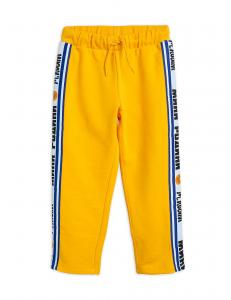 MINI RODINI SWEATPANTS MOSCROW YELLOW