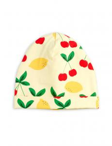 MINI RODINI MÖSSA CHERRY LEMONADE BEANNIE YELLOW