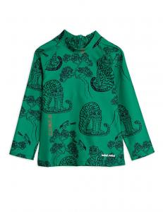 MINI RODINI TIGERS UV TOP GREEN