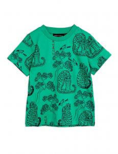 MINI RODINI TIGERS SS TEE GREEN
