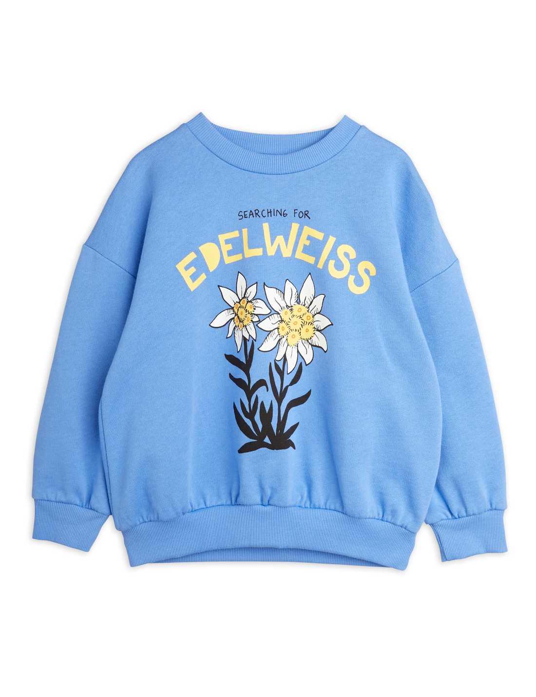MINI RODINI EDLEWEISS SP SWEATSHIRT BLUE
