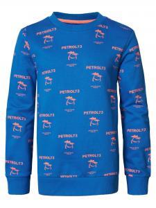 PETROL SWEATSHIRT SWR343 AZURE BLUE