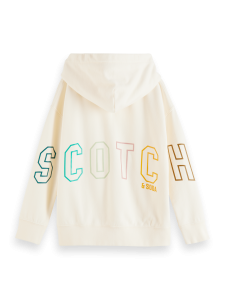 SCOTCH ZIPHOOD 161933 ECRU