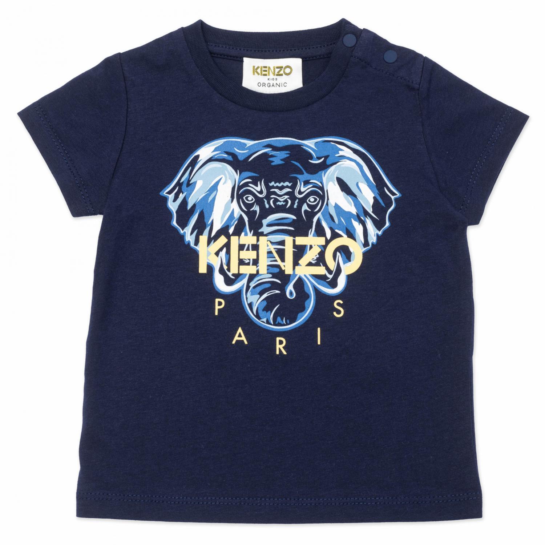 KENZO T-SHIRT ELEFANT BLUE