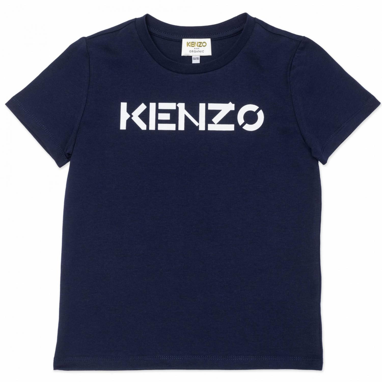 KENZO T-SHIRT LOGGO NAVY K15082