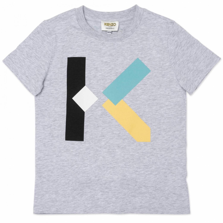 KENZO T-SHIRT GREY K GREY K25107