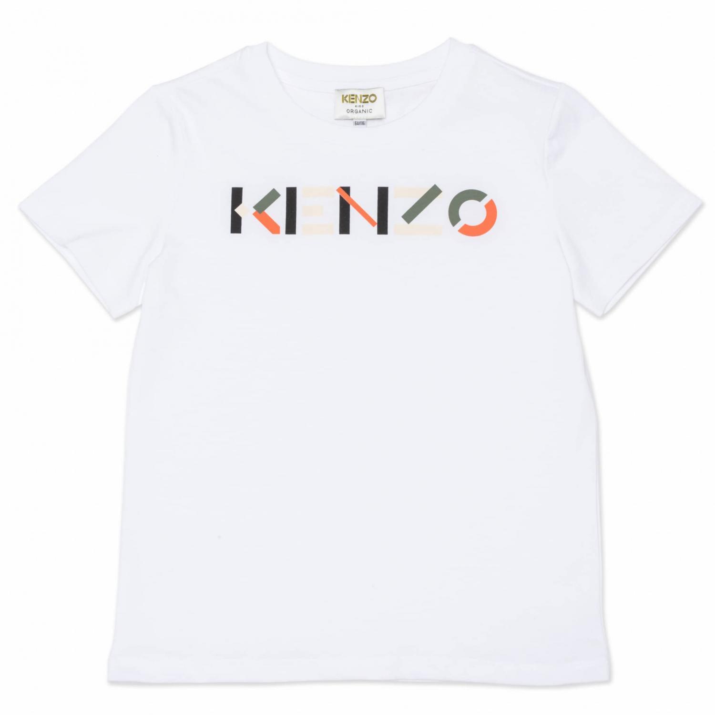 KENZO T-SHIRT LOGGO WHITE K25112