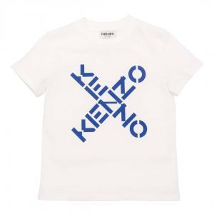 KENZO T-SHIRT K25175 OFFWHITE
