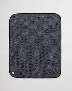 GANT ICON G BLANKET-BLUE