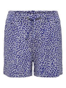 ONLY KONPOPTRASH EASY SHORTS FLOWER BLUE