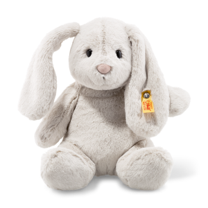 STEIFF KANIN HOPPIE RABBIT LIGHT GREY