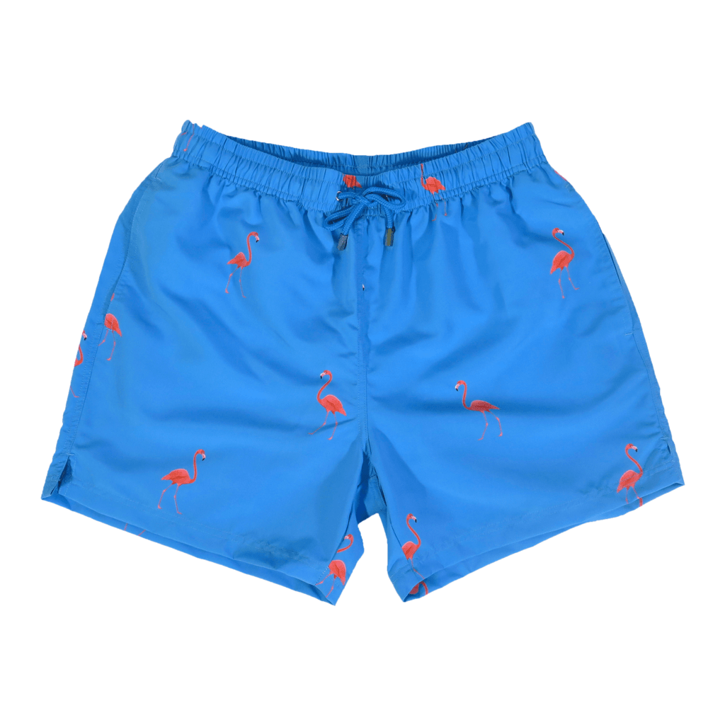 Decisive Badshorts kids Flamingo 001