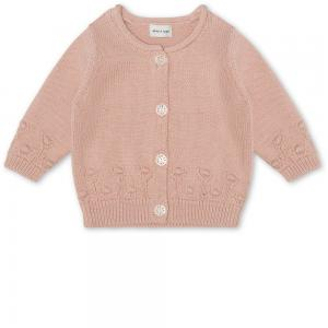 MINIATURE ALONA CARDIGAN ROSE DUST
