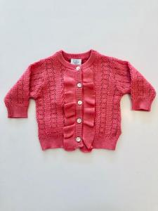 CLAIRE CARDIGAN 49337292 CORALL