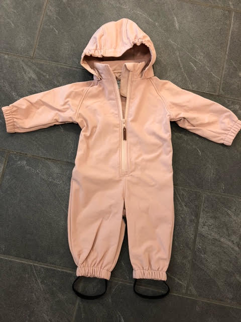 MINI A TURE OVERALL SOFTSHELL ARNO ROSE DUST