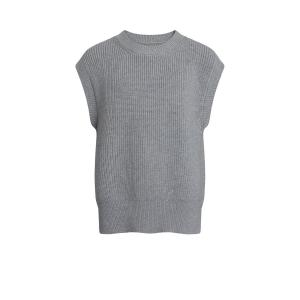 GRUNT VÄST ANN KNIT GREY