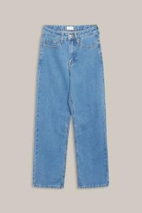GRUNT JEANS WIDE LEG BLUE