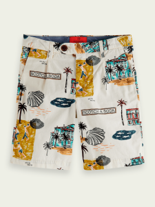 SCOTCH SHORTS 161021 ALL OVER PRINT