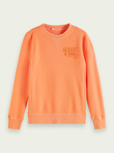 SCOTCH SWEATSHIRT 161075 ORANGE