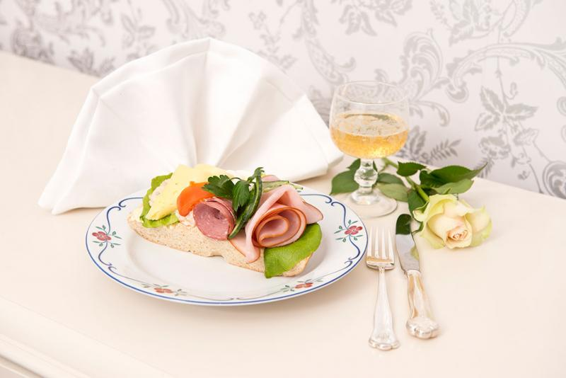 Blandad smörgås