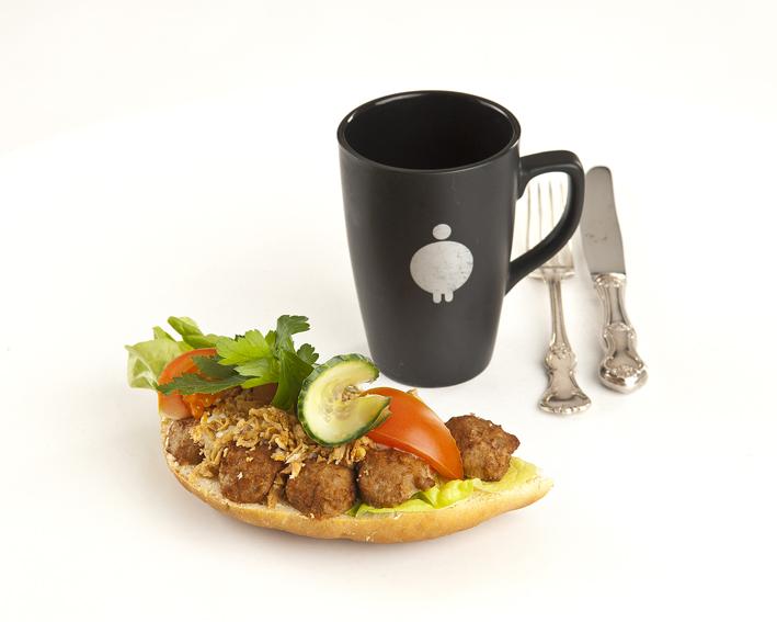 Köttbullesmörgås