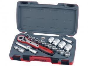 Hylsnyckelsats Teng Tools T1221-6