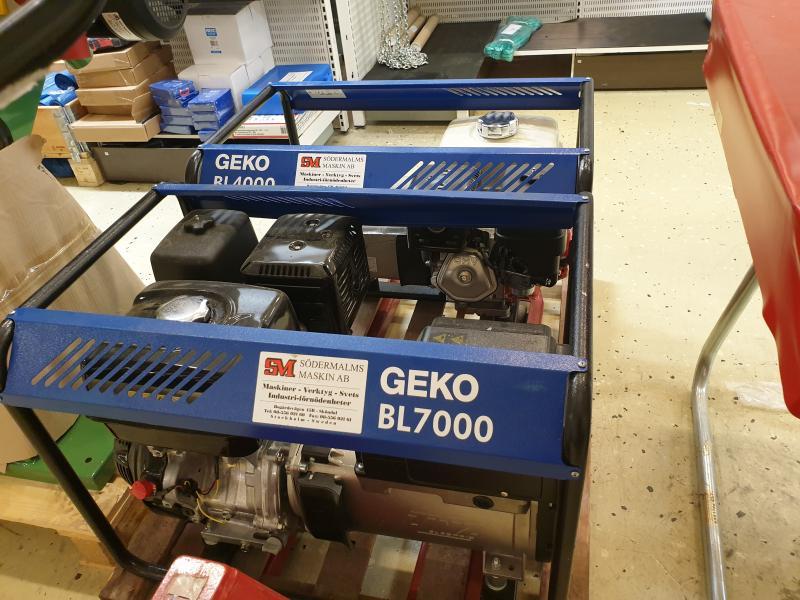 Elverk begagnat GECO BL7000