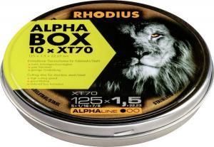 KAPSKIVA RHODIUS 125X1,5 XT70