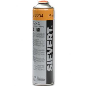 Gasolflaska Sievert engångs med ventil 2204