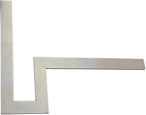 Flänsvinkel av stål