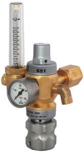 Regulator med gassparfunktion Harris 651-AR/MIX