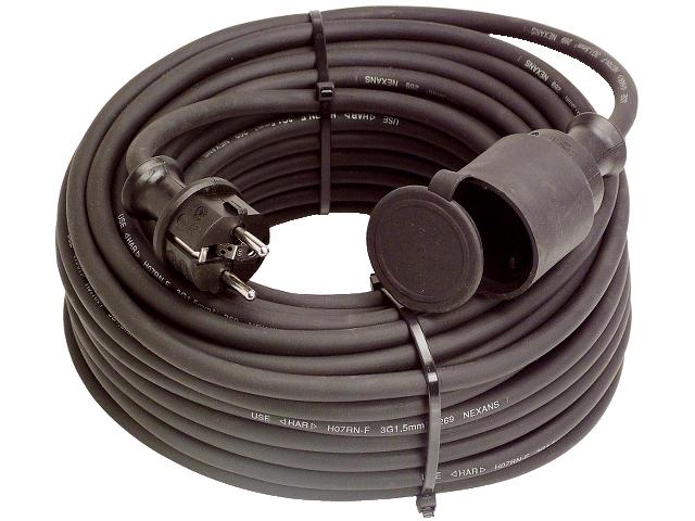 Skarvsladd gummi extra kraftig, H07RN-F 3G2,5