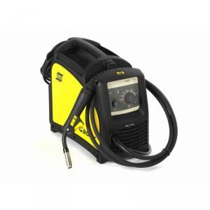 Caddy® Mig C160i är en kompakt och bärbar 1-fas MIG/MAG-strömkälla på 160A | Professionell MIG/MAG-Svetsning i stål med solidtråd eller gaslös rörtråd