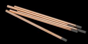 Kolelektrod för bågluftsmejsling