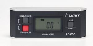 Digital vattenpass och vinkelmätare Limit LDA 150