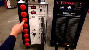 Kalibrering & validering av svetsmaskin