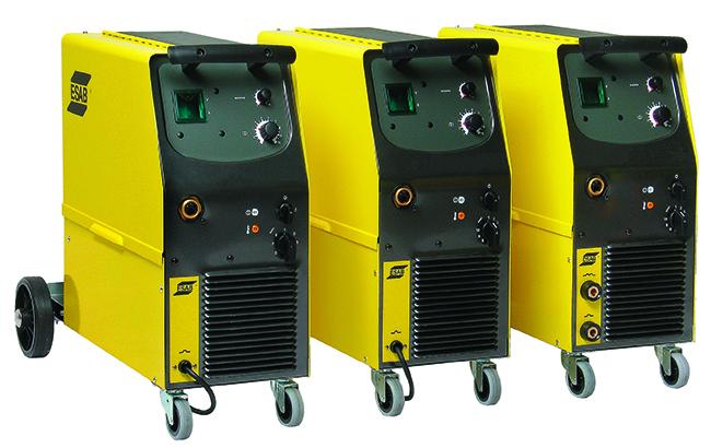 ORIGO MIG C170, C200 & C250 3PH Origo Mig C170, C200 & C250 3ph är stegreglerade, kompakta halvautomatströmkällor. Enkla med relativt låg vikt och inbyggt matarverk