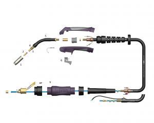Reservdelar Mig/Magpistol Parweld SB150