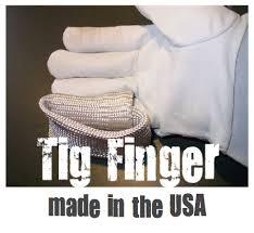 Tig finger Värmeskydd