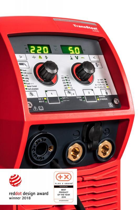 Fronius Transsteel 2200 multiprocess