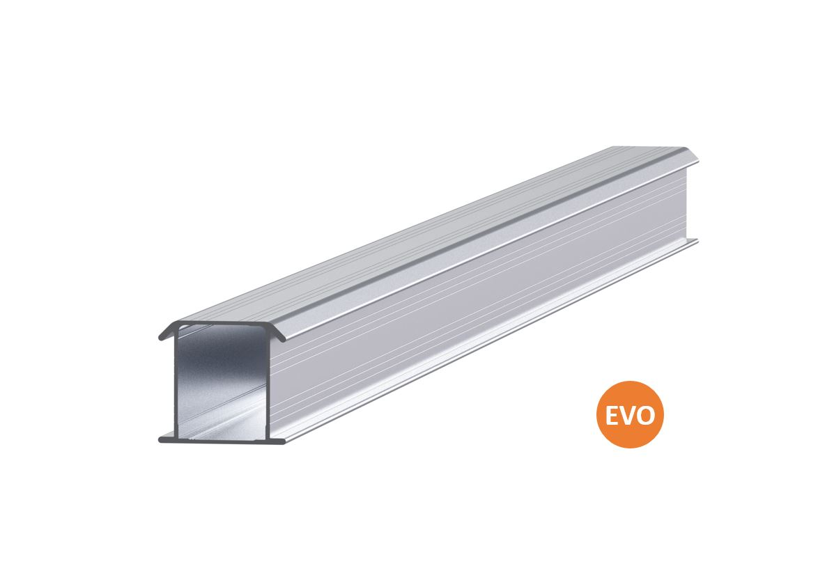 ESDEC - ClickFit EVO Installationsskena 6446 mm