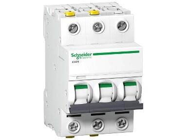 Schneider Electric - AC Automatsäkring 3-polig - 10 A