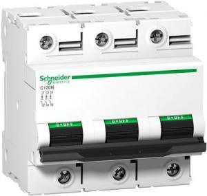 Schneider Electric - AC Automatsäkring 3-polig - 80 A  C-kurva