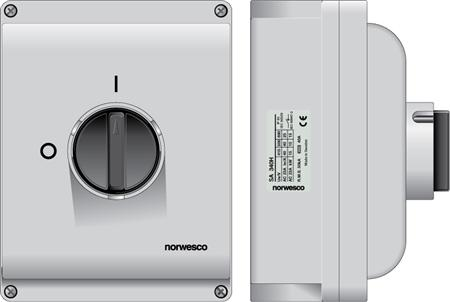 norwesco - AC Säkerhetsbrytare 80A